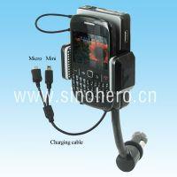 Car kit&mobile phones FM transmitter