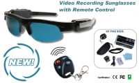 Sunglasses shaped DVR with Remote Control