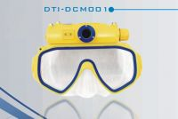 Diving Mask with Digital Camera