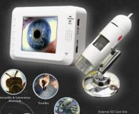 2.7' Video Recording Microscope 50X-200X