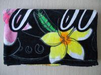 100% cotton recreative printed beach  towel