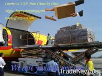 Shipping the goods from China to USA by international courier service