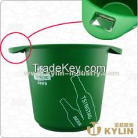 ice bucket with bottle opener