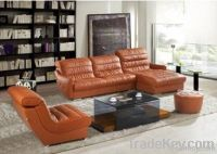 Europ morden style fabric, leather sofa for living room