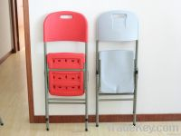 POPULAR FOLDING CHAIR  IN PLASTIC FOR OUTDOOR AND INDOOR ACTIVITIES