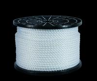 PE silver rope in hank