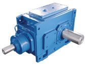 H B series industrial gear units