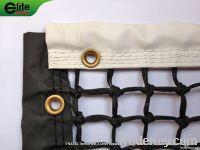 Tennis Net, 3.0mm Braided Netting, Handmade, Leather headband, Double