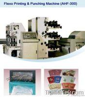 Flexo Printing & Punching Machine