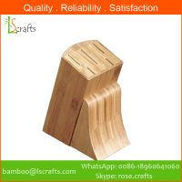Bamboo Knife Blocks/ Knife holder/ Knife storage
