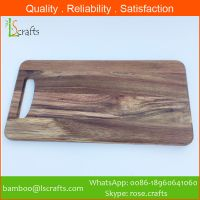 Acacia wood Cutting