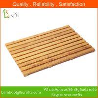 Chinese Manufacturer  Bamboo Bath Mats