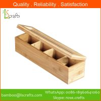 Eco-Freindly Bamboo Tea Coffe Box