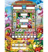 TSK Taiwan Arcade Mario Slot Game Machine: Frutilandia No Roulette (VIP/ABS)