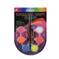 Acrylic Neon Finger Nail Paint Kit