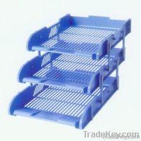 Blue File Tray