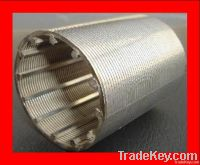 wedge wire cylinder water well screen