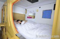 Popular capsule mini bed room sleep box for hotel equipment