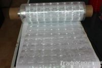 transparent multi-lens film, packaging materials, plastic film