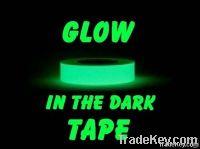 GLOW IN THE DARK vinyl Photoluminescent Tape
