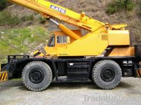 Kato rough terrain crane