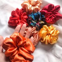 Silk Hair Scrunchies/Hair
