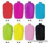 new item U shape silicone cosmetics case