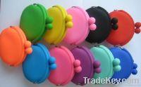 silicone rubber change purse