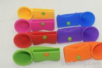 hot sale silicone horn stand speaker for iphone4s