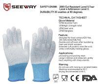 Cut resistant butcher gloves