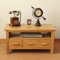 Solid Oak Coffee Table/TV Stands