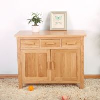 Solid Oak Sideboard NM36 (Oak Dining Room Furniture)