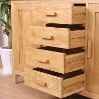 Solid Oak 4+2 Sideboard