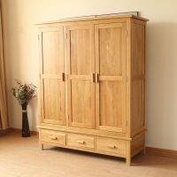 Solid Oak Wardrobes (100% solid oak bedroom furniture)