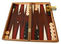 wooden backgammon