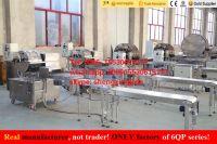 automatic spring roll sheets machine/ samosa pastry machine/injera machine/ crepes machine/ spring roll machine/ samosa machine ( manufacturer) whatsapp:0086-15530615177