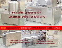 cracker machine,  extruder, extruded cracker machine, puffed snacks machine