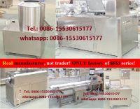 prawn cracker machine,  extruder, extruded cracker machine, puffed snacks machine