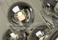 modern pendant lamp, Tom Dixon mirror ball pendant lamp/light