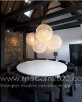 rattan plaiting pendant lamp, modern furniture