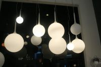Modern pendant lamp, Artemide Castore suspension lamp/light