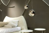 copper shade pendant lamp/light, mirror ball pendant lamp,