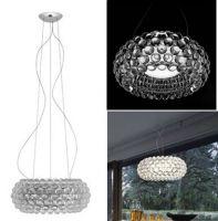 Foscarini caboche pendant lamp, crystal lamp