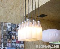 Milk Bottle Pendant Lamp