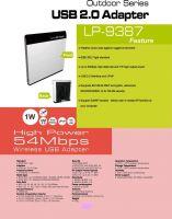 outdoor high power 802.11 b/g/n wireless usb adapter