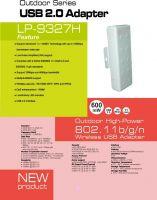 outdoor 802.11 b/g/n wireless usb adapter