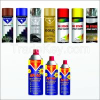 SPRAY PAINT AND AEROSOLS