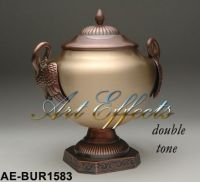 Handcrafted Solid Brass Funeral Urns
