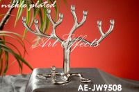 Handcrafted Solid Brass Menorah Candle Holder