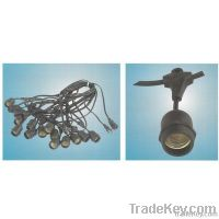 E26 Light String, lamp String, Christmas Light String